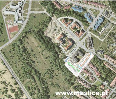 Maślice ul. Reszelska 12-16 - Mapa