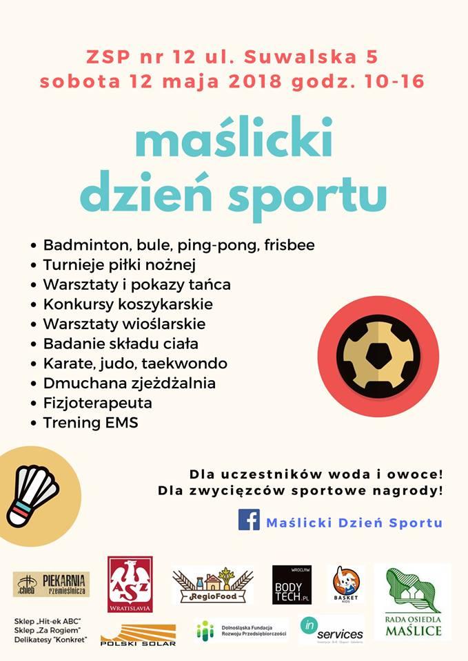Maślicki Dzień Sportu