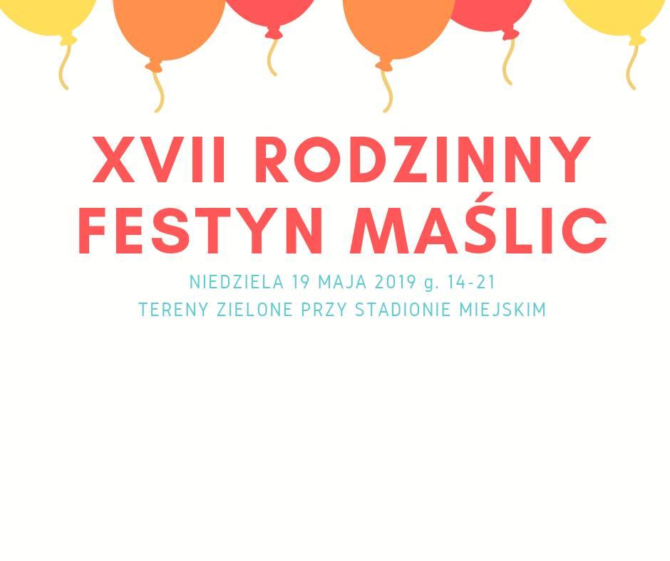 XVII Rodzinny Festyn Maślic