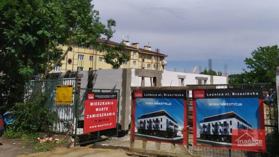 ul. Brzezińska - Leśnica - lipiec 2020 r.