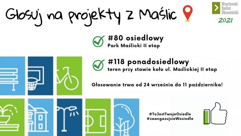 Wrocławski Budżet Obywatelski 2021 – głosujemy